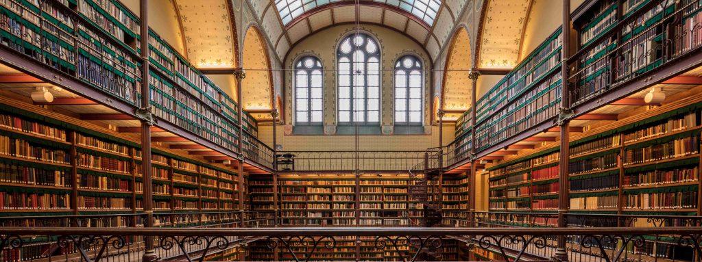 Rijks Museum Library, Amsterdam